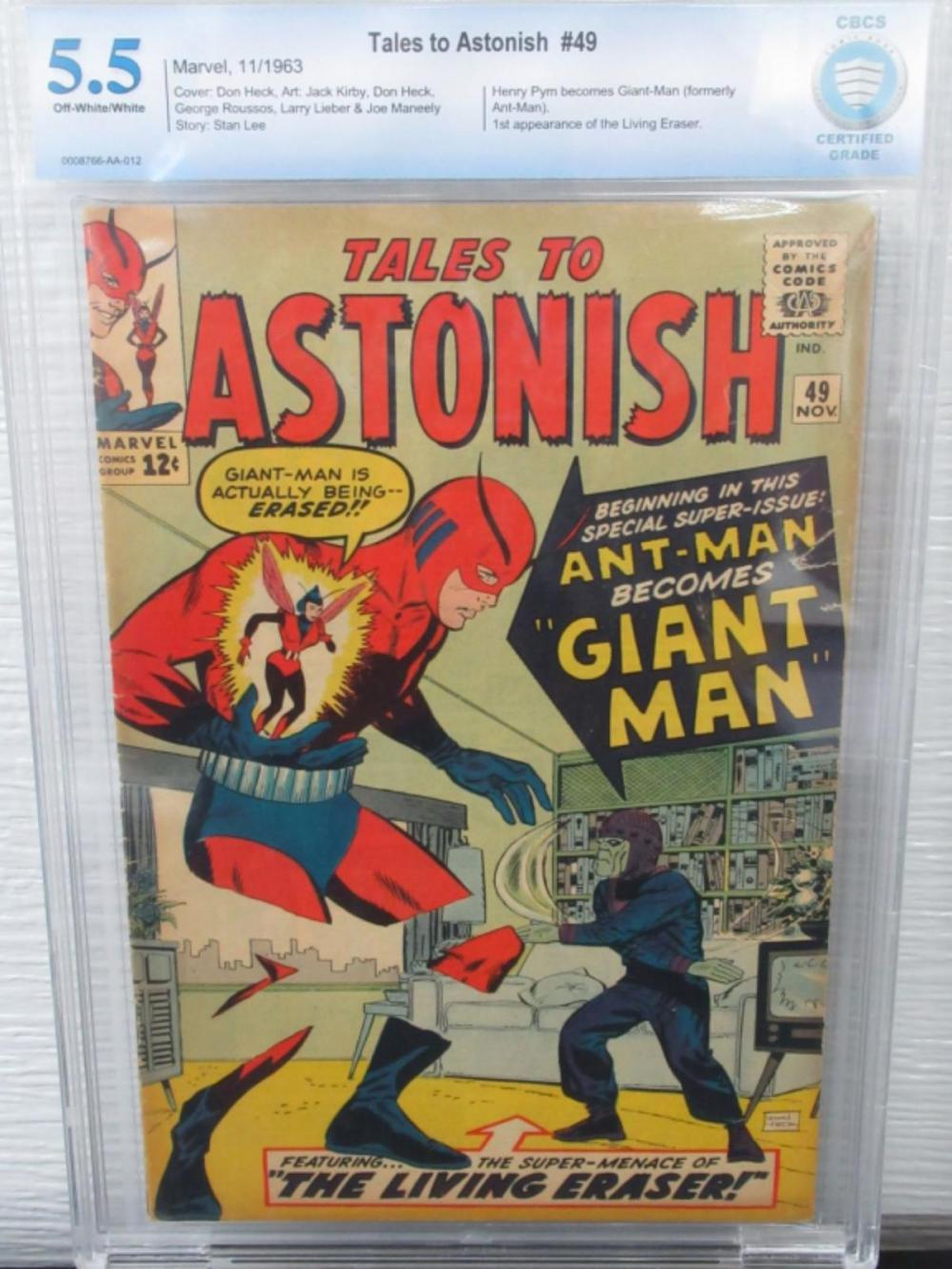 Tales to Astonish #49 CBCS 5.5 1st Giant Man