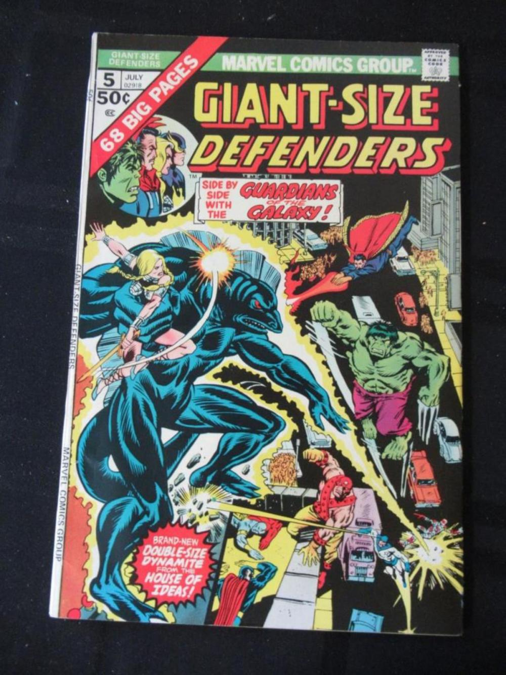 Giant Size Defenders #5 Guardians of the Galaxy