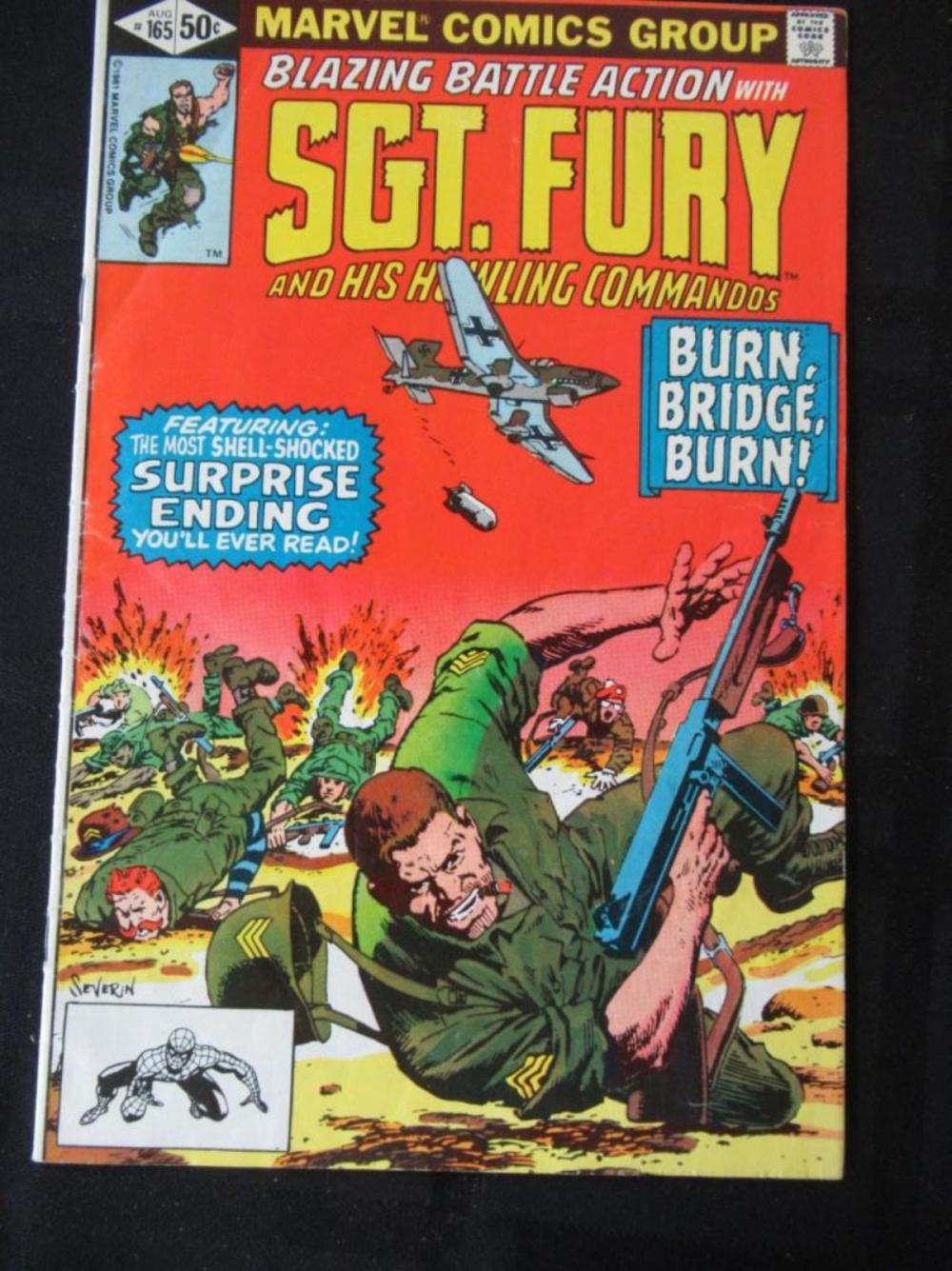 Sgt. Fury #165 Burn Bridge Burn