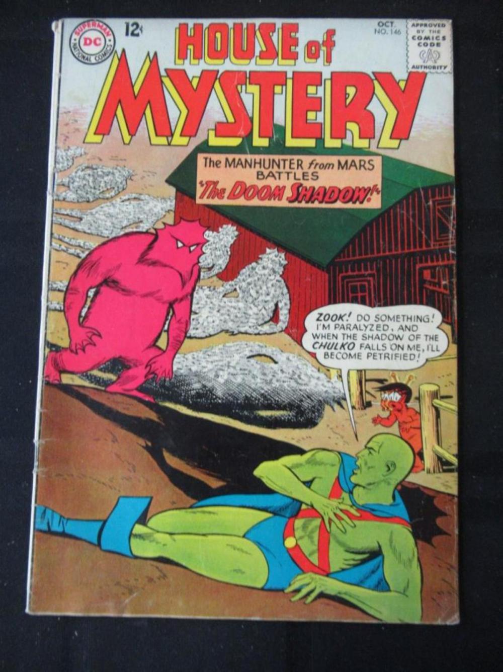 House of Mystery 12c #146 The Doom Shadow