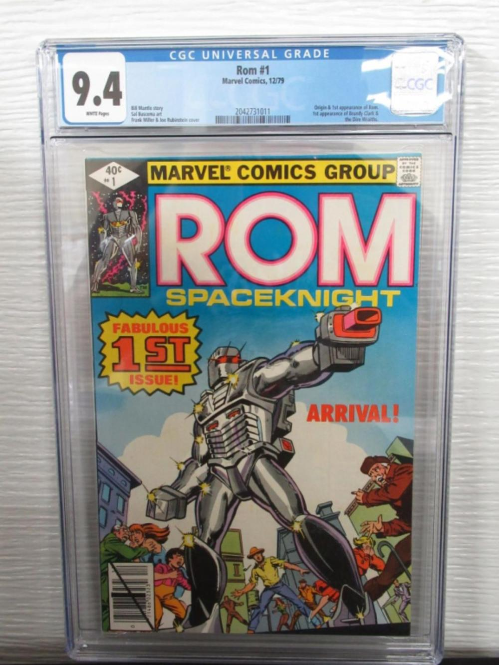 Rom #1 CGC 9.4 original & 1st Rom, Brandy Clark