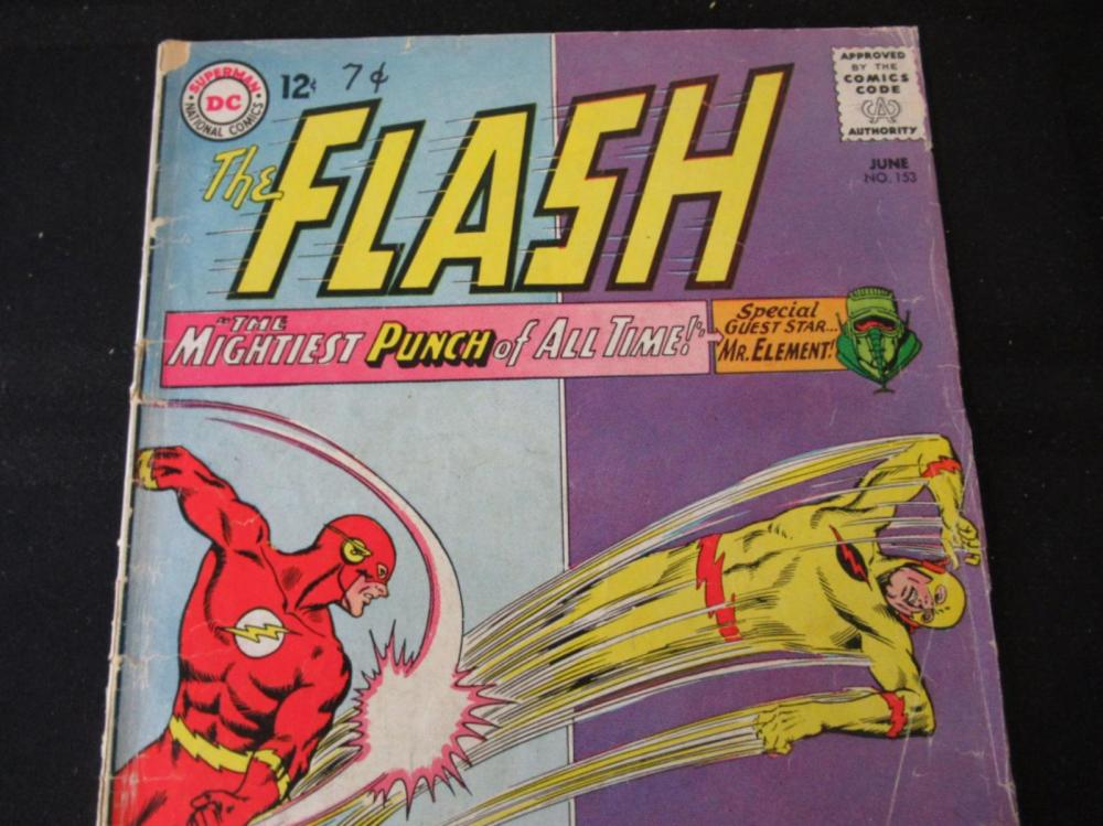 Lot 82: The Flash 12c #153 Mightiest Punch of All Times