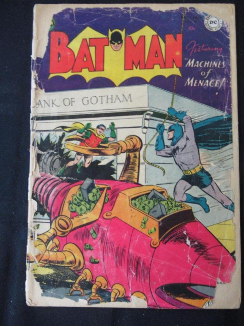 Batman 10c #80 Machines of Menace