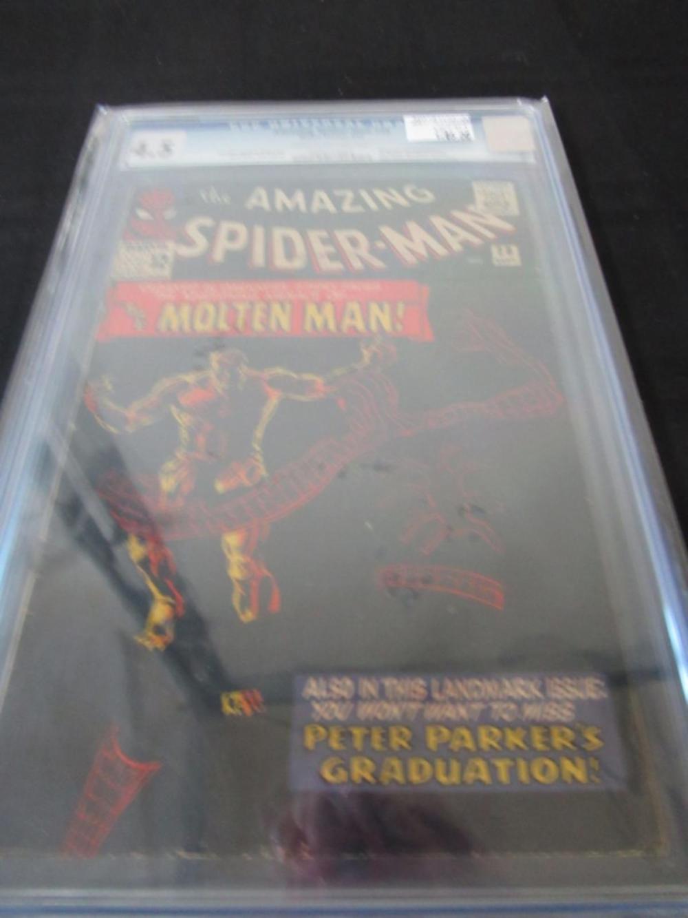 Amazing Spider-Man #28 CGC 4.5 Origin & 1st Molten