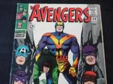 Lot 93: The Avengers 12c #30 Frenzy in a Far-off Land