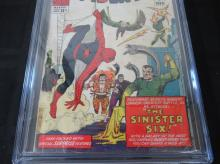 Lot 95: Amazing Spider-Man Annual #1 CGC 3.5 1st Sin Six