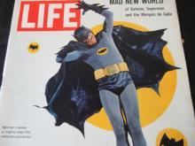 Lot 100: Life Magazine Batman Makes Mighty Leap March 1966