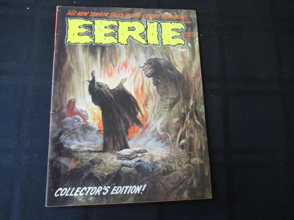Eerie Magazine #2 1966 Collector's Edition
