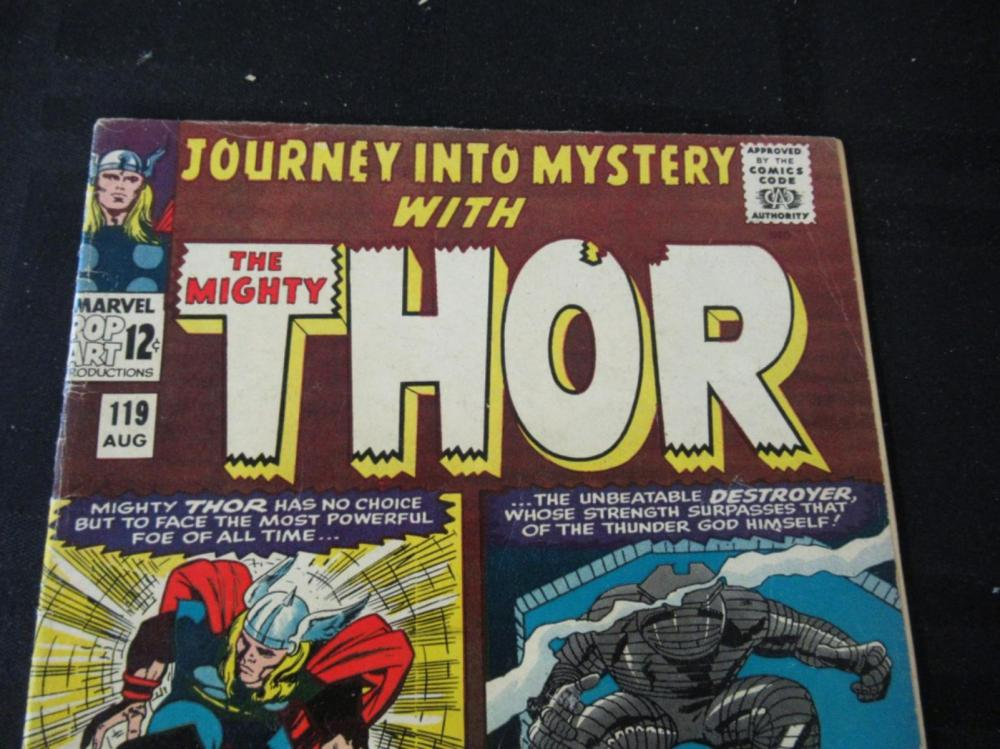 Lot 103: Journey Into Mystery Thor #119 1965 12c