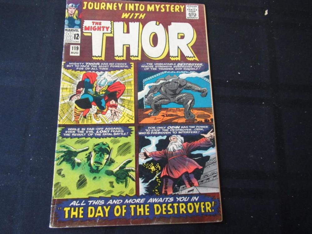 Journey Into Mystery Thor #119 1965 12c