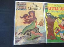 Lot 109: Little Mermaid, Little LuLu, Scamp 15-25c Comics