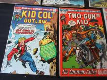 Lot 110: 7 Outlaw, Apache, Tomahawk, Weird Western comics
