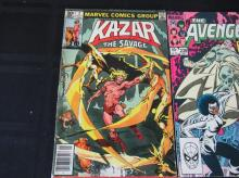 Lot 107: Sweethearts, Super-Heroes, Avengers, Kazar