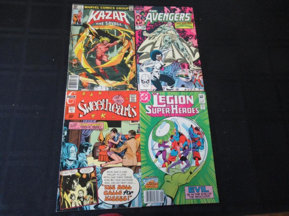 Sweethearts, Super-Heroes, Avengers, Kazar