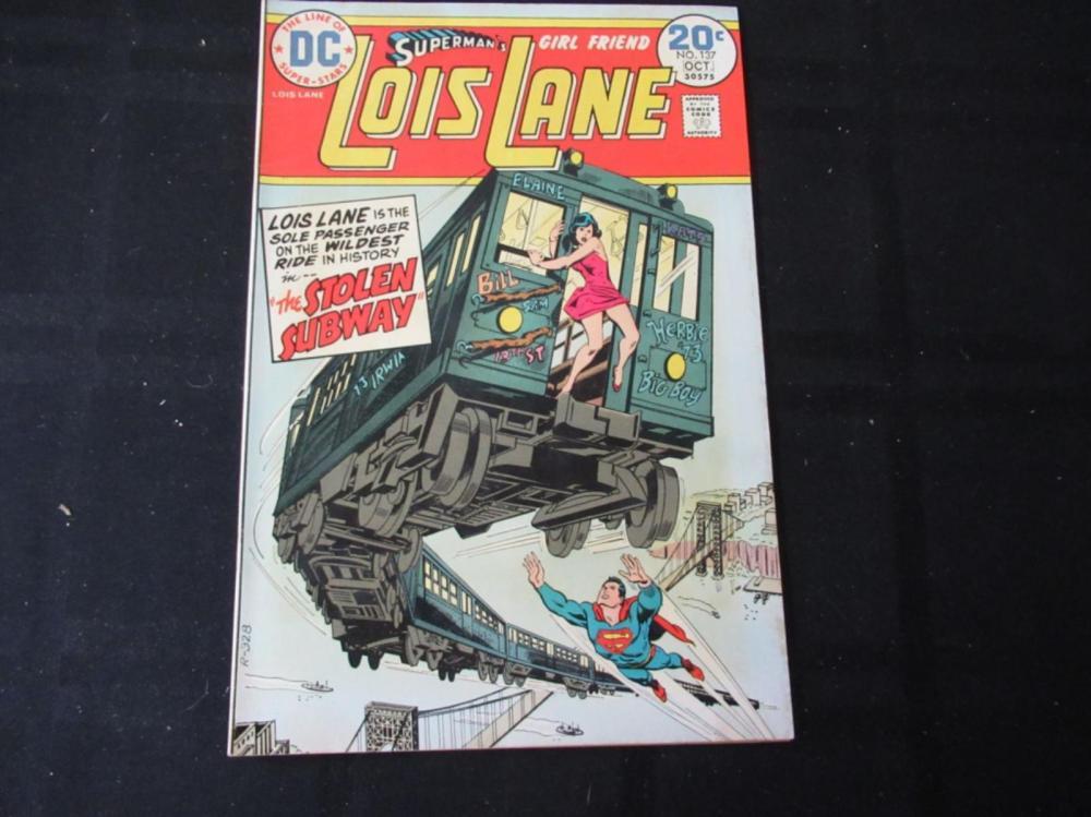 Lois Lane #137 Stolen Subway