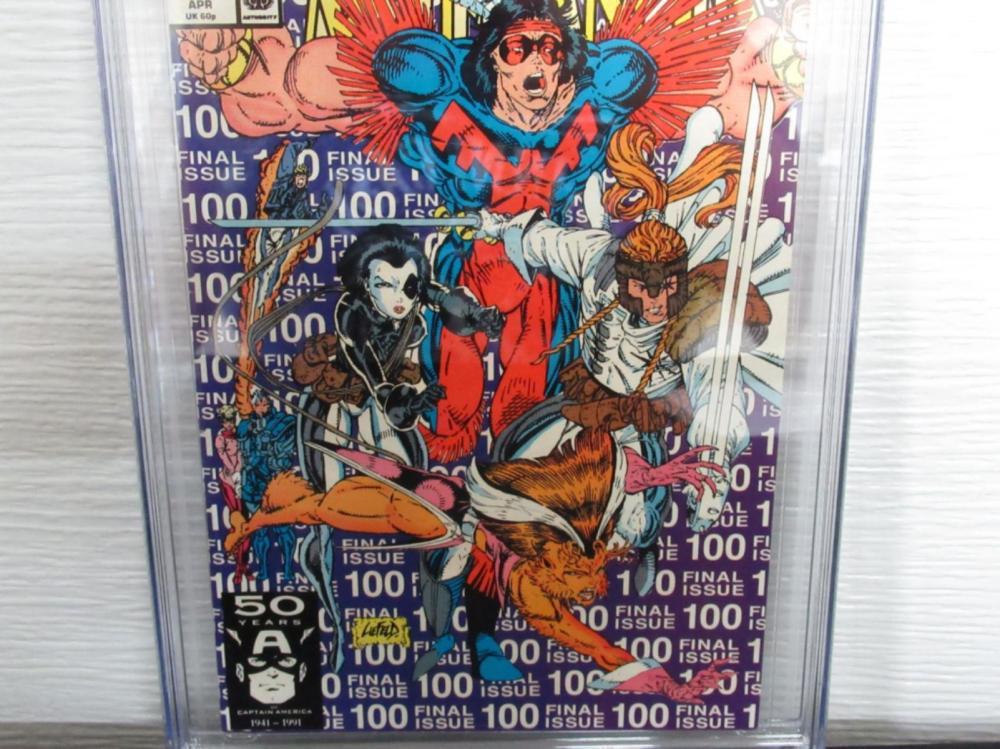Lot 115: New Mutants #100 CGC 9.0 Last Issue