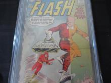 Lot 118: Flash #116 CGC 7.5 Kid Flash backup story