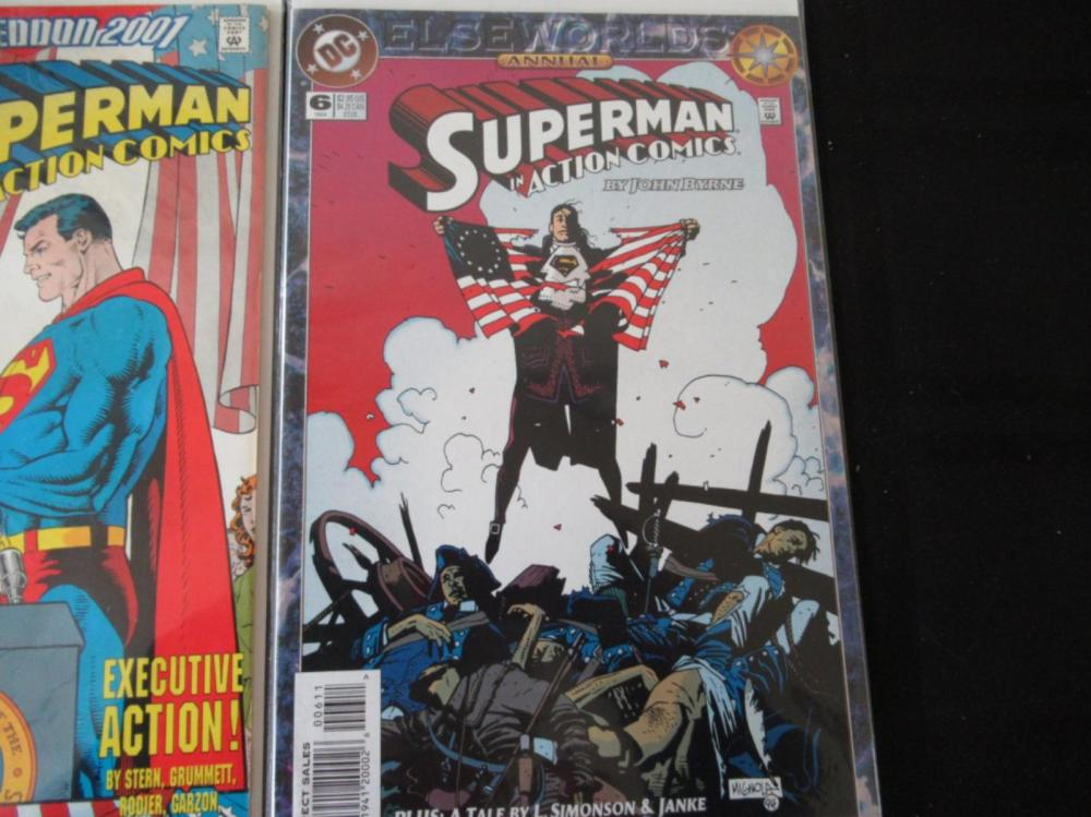 Lot 121: 3 Superman In Action #3, 4, 6
