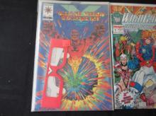 Lot 119: #1's Valiant Starter Kit, Terminator, Wild Cats