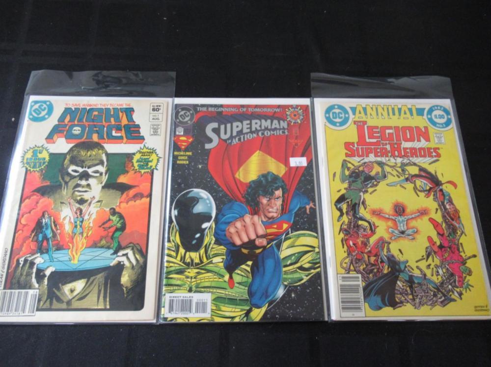 #1 Night Force & Legion Super-Heroes, Superman