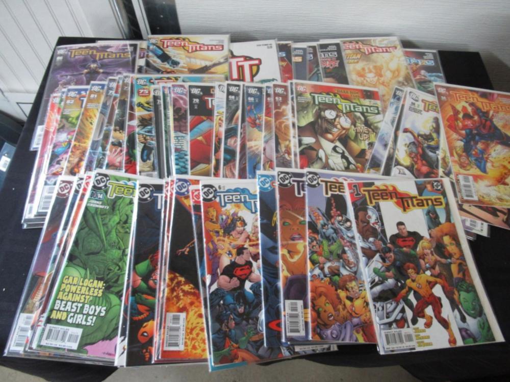Teen Titans 3rd Series #1-100