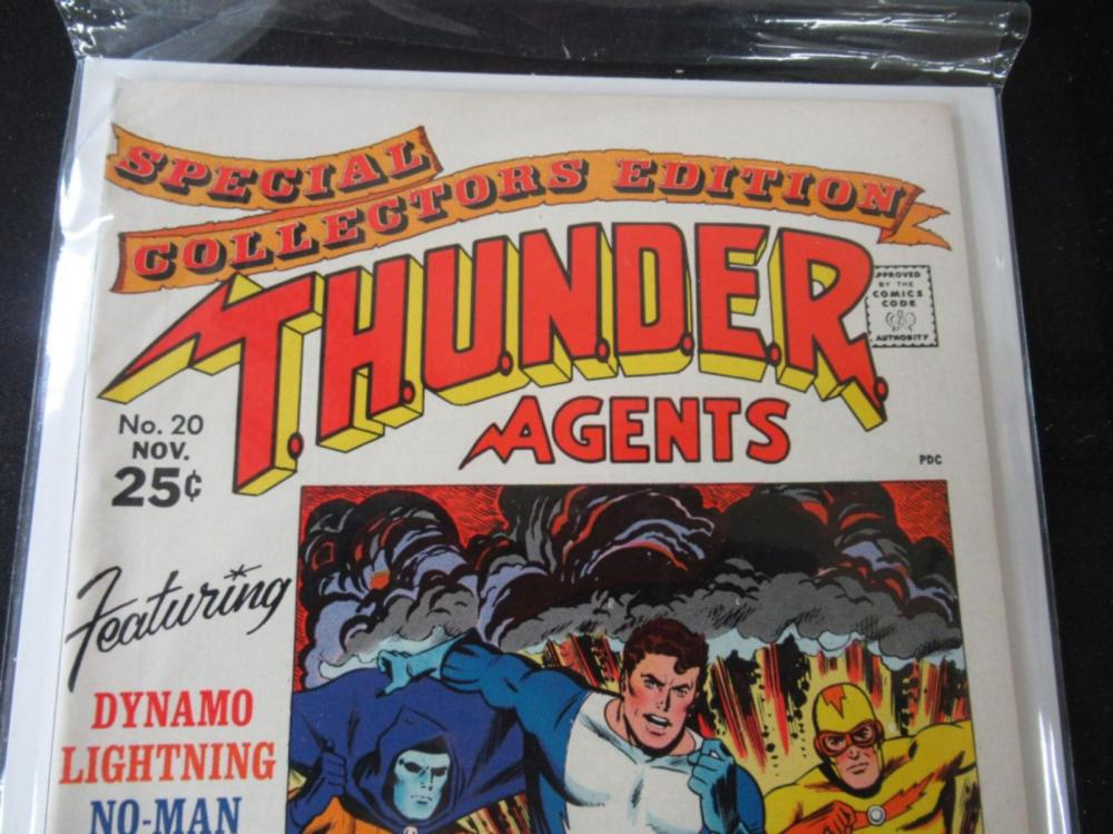 Lot 124: THUNDER Agents #20 Special Collecotors Edition