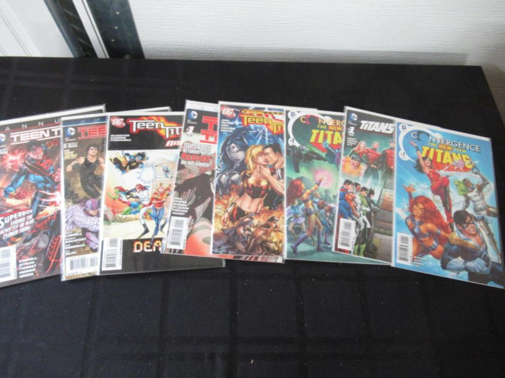 Teen Titans, 5 Annuals, Convergence 1,2 Hunt 1