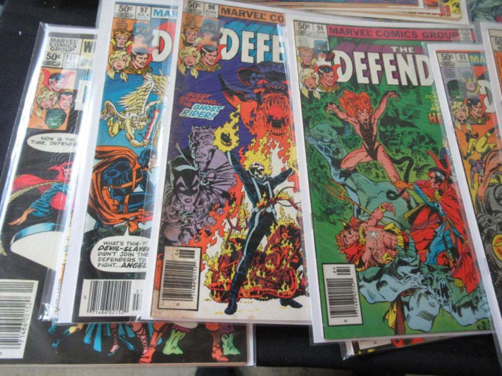 The Defenders 51, 53-75, 78, 92-97, 99-101