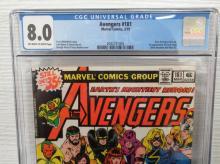Lot 134: Avengers #1818 CGC 8.0 New Avengers Line UP