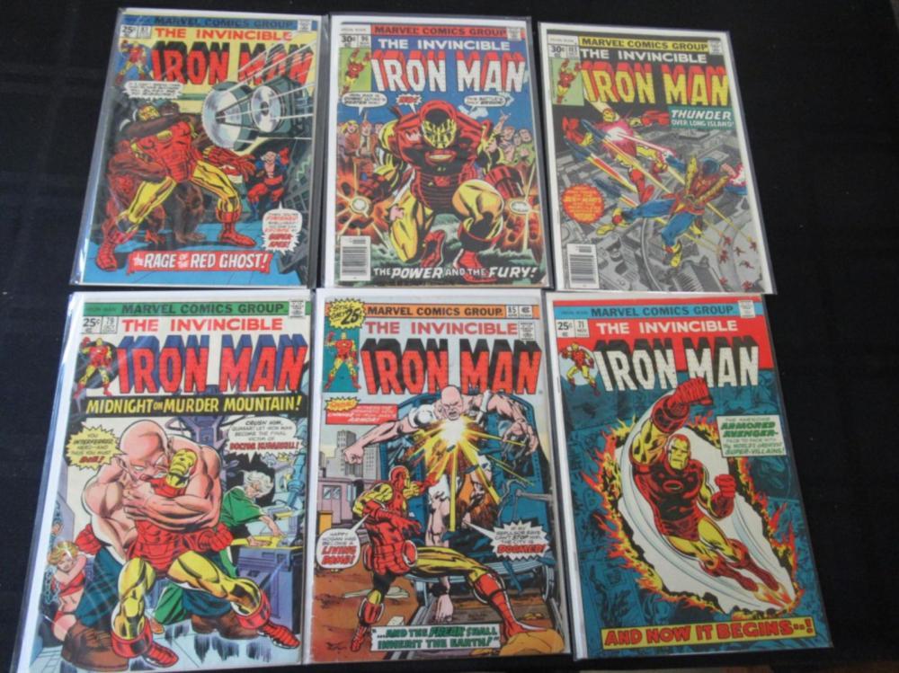 6 Invincible Iron Man #71, 79, 85, 103, 83, 96