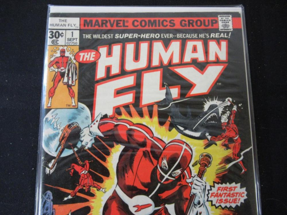 Lot 144: The Human Fly #1 1st Fantastic Issue