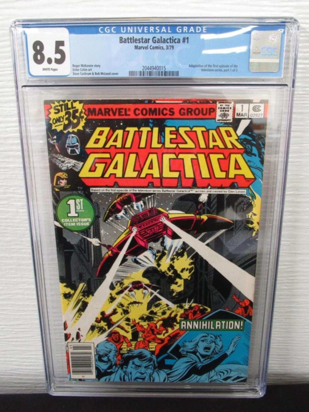 Battlestar Galactica #1 CGC 8.5 Adapt 1st Episode