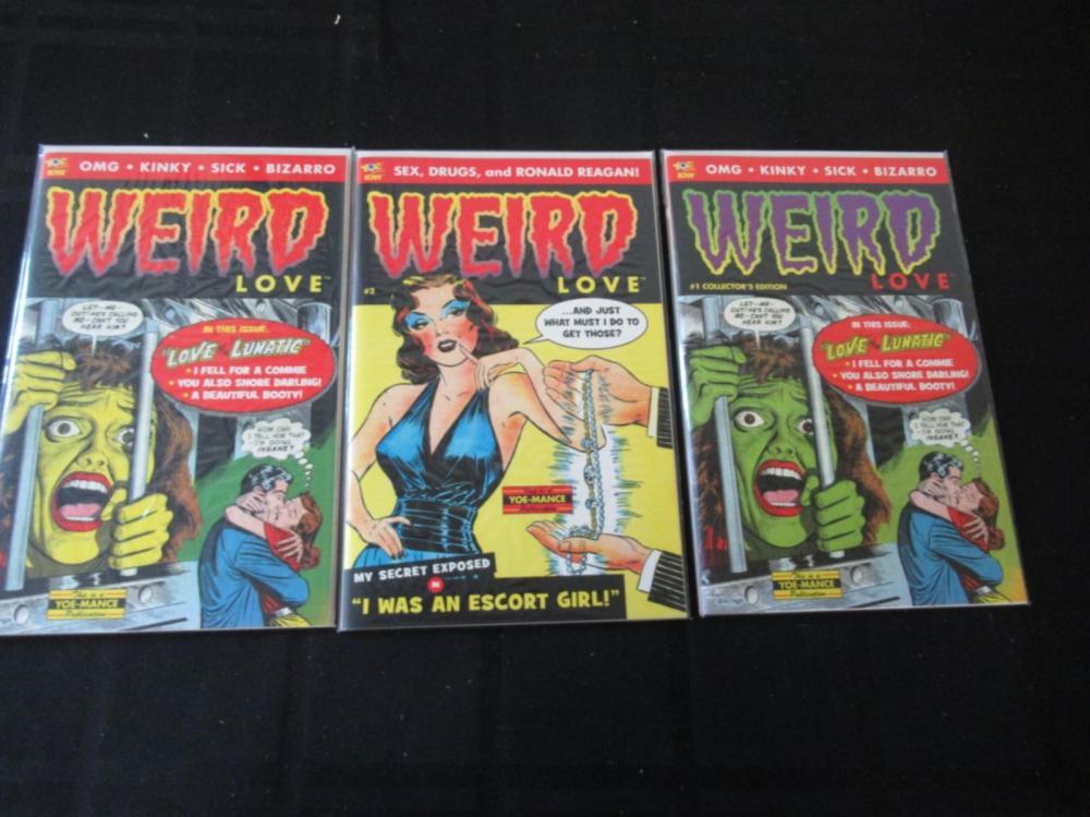 3 Weird Love #2, 32, 1st Collectors Edition