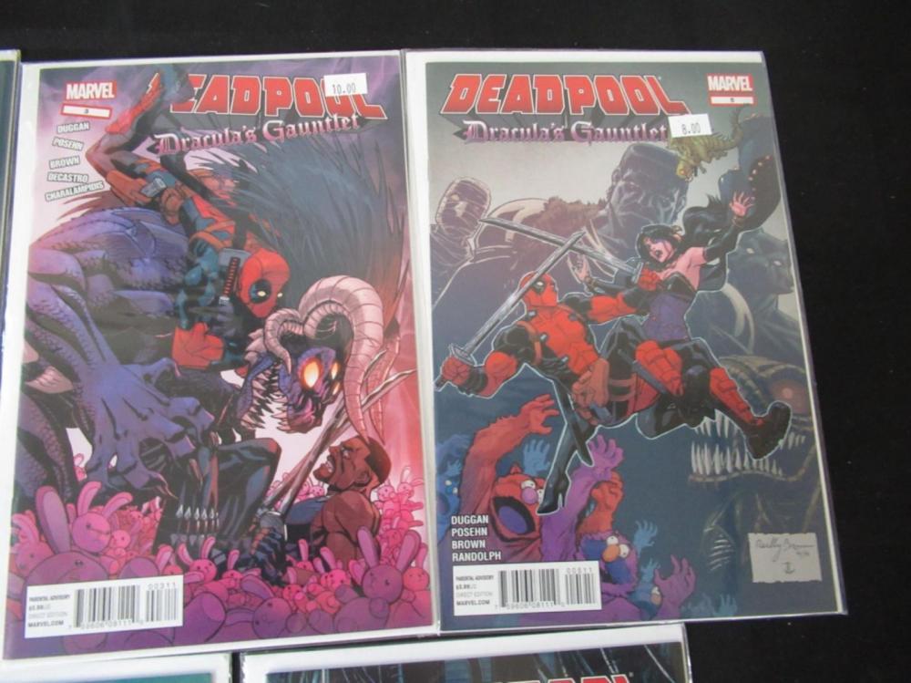 5 Deadpool #3 thru 7