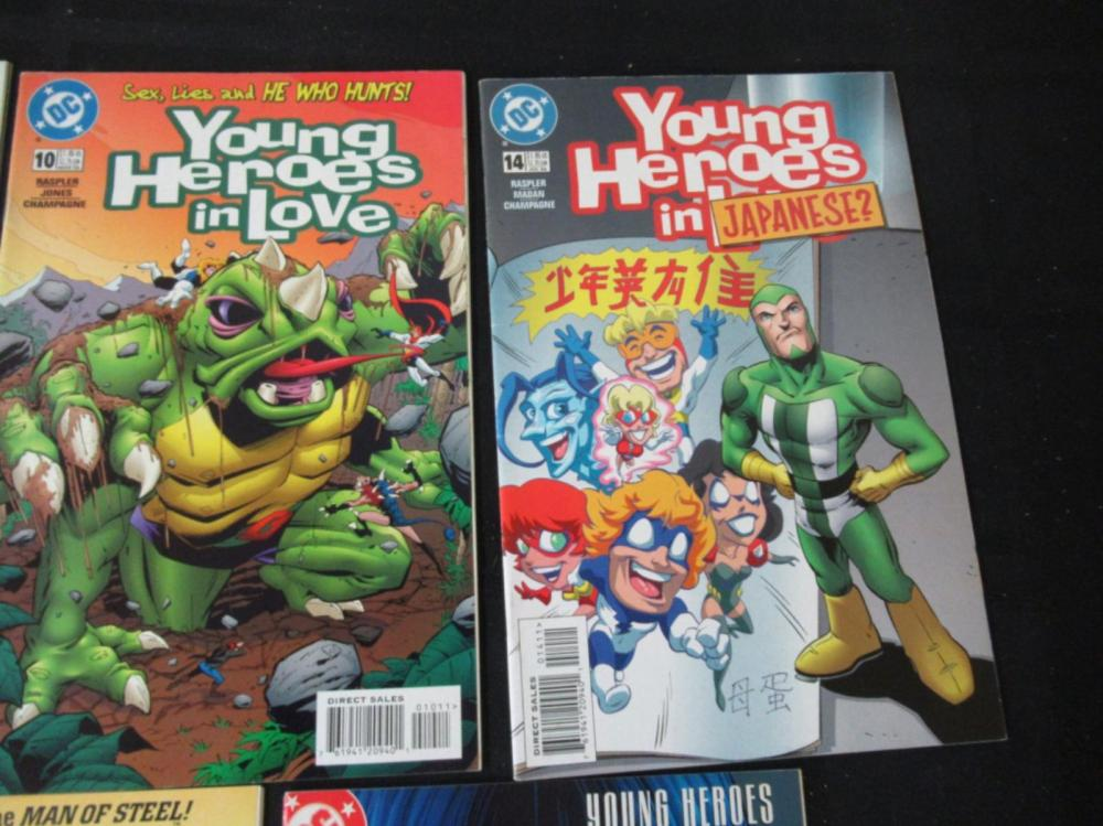 Lot 147: 5 Young Heroes in Love #3, 4, 7, 10, 14
