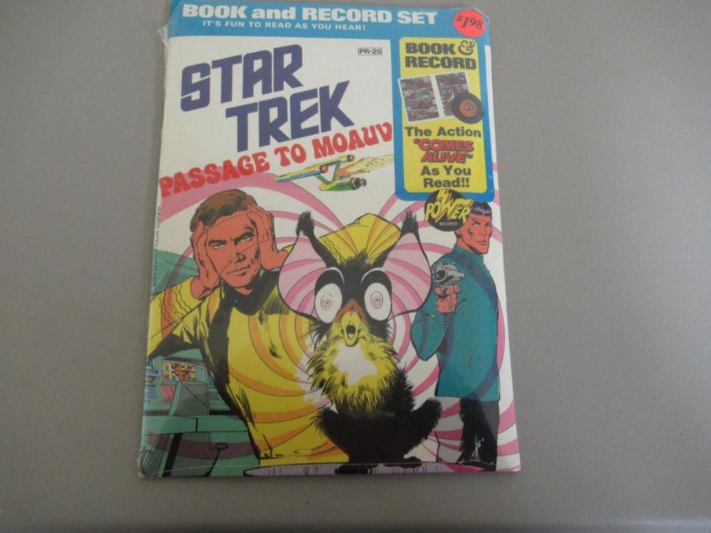 Star Trek Book & Record Set 1975 unopened