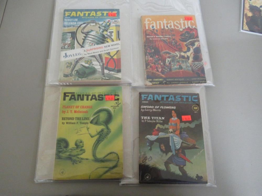 4 Fantastic Stories of Imagination 1940-50's