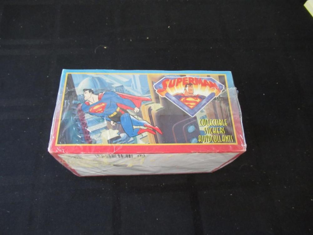 Superman Collectible Stickers in 100 packets