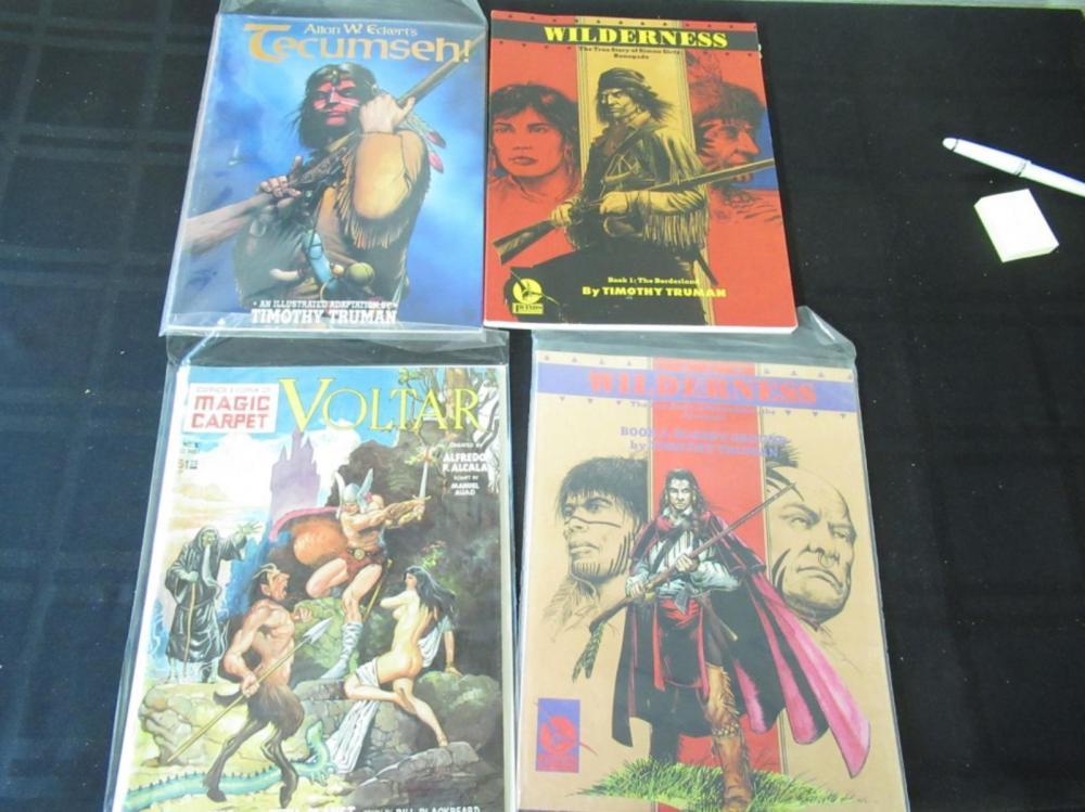2 Wilderness, Voltar, Tecumseh Magazines