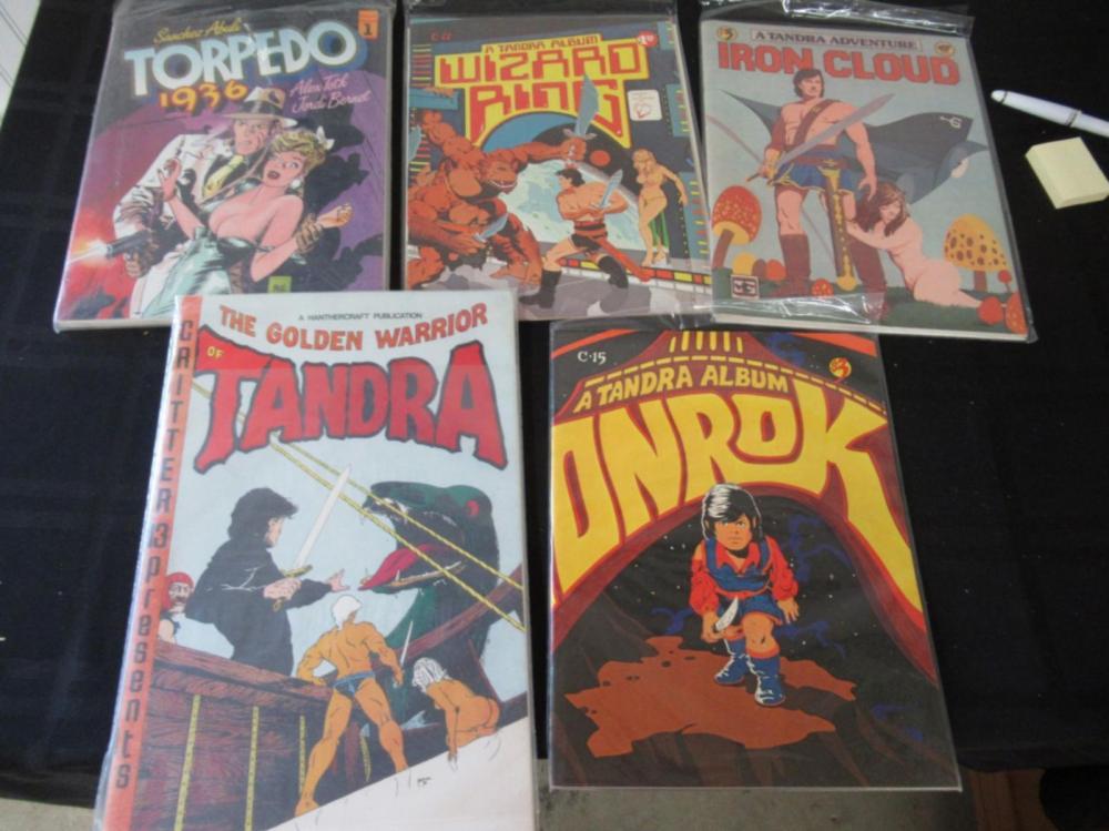 Onrok, Tandra, Torpedo, Iron Cloud, Wizard Ring