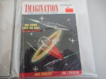 Lot 155: 4 Imagination Stories of Science and Fantasy