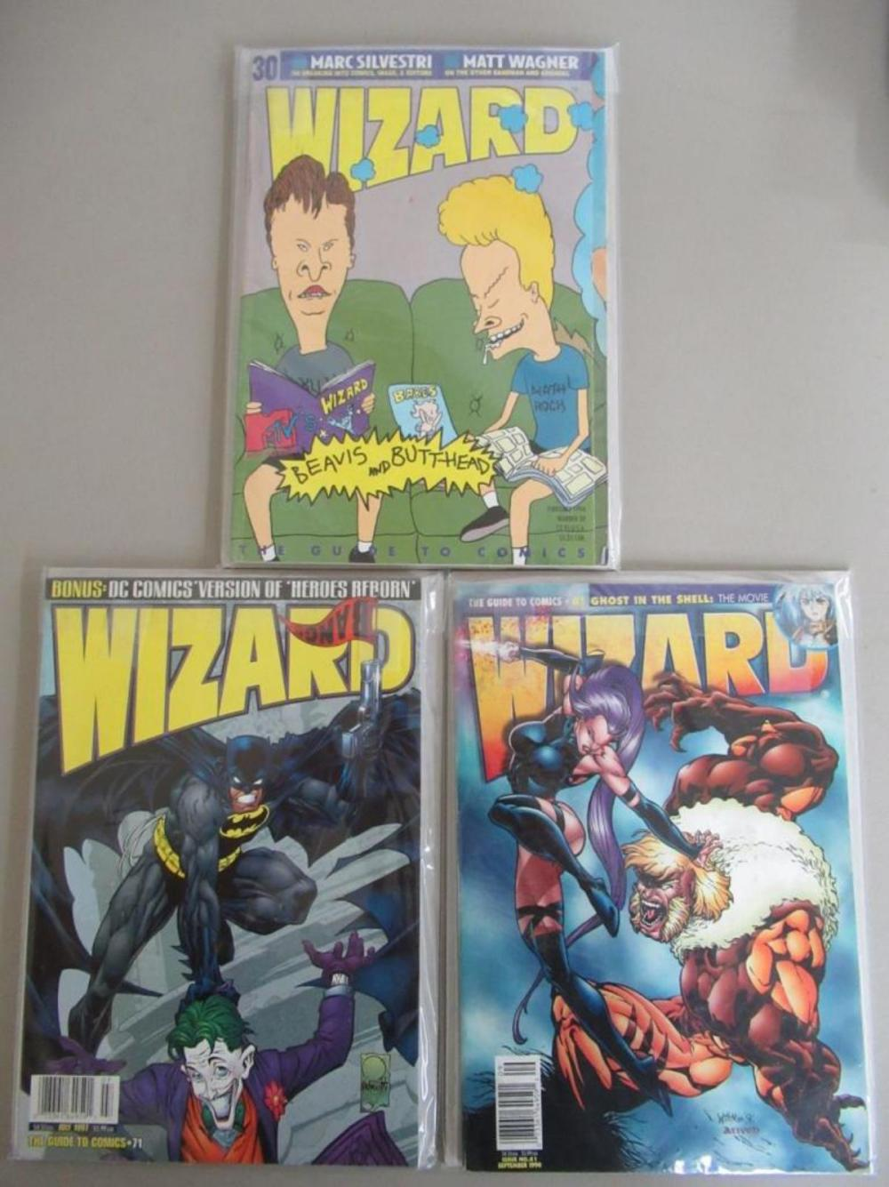 3 Wizard Graphic Novels #30, 61, 71