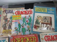 Lot 161: 9 Cracked Magazines #64, 125,172, 182, 121