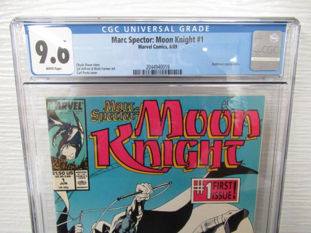 Marc Spector: Moon Knight #1 CGC 9.6 1st Bushman