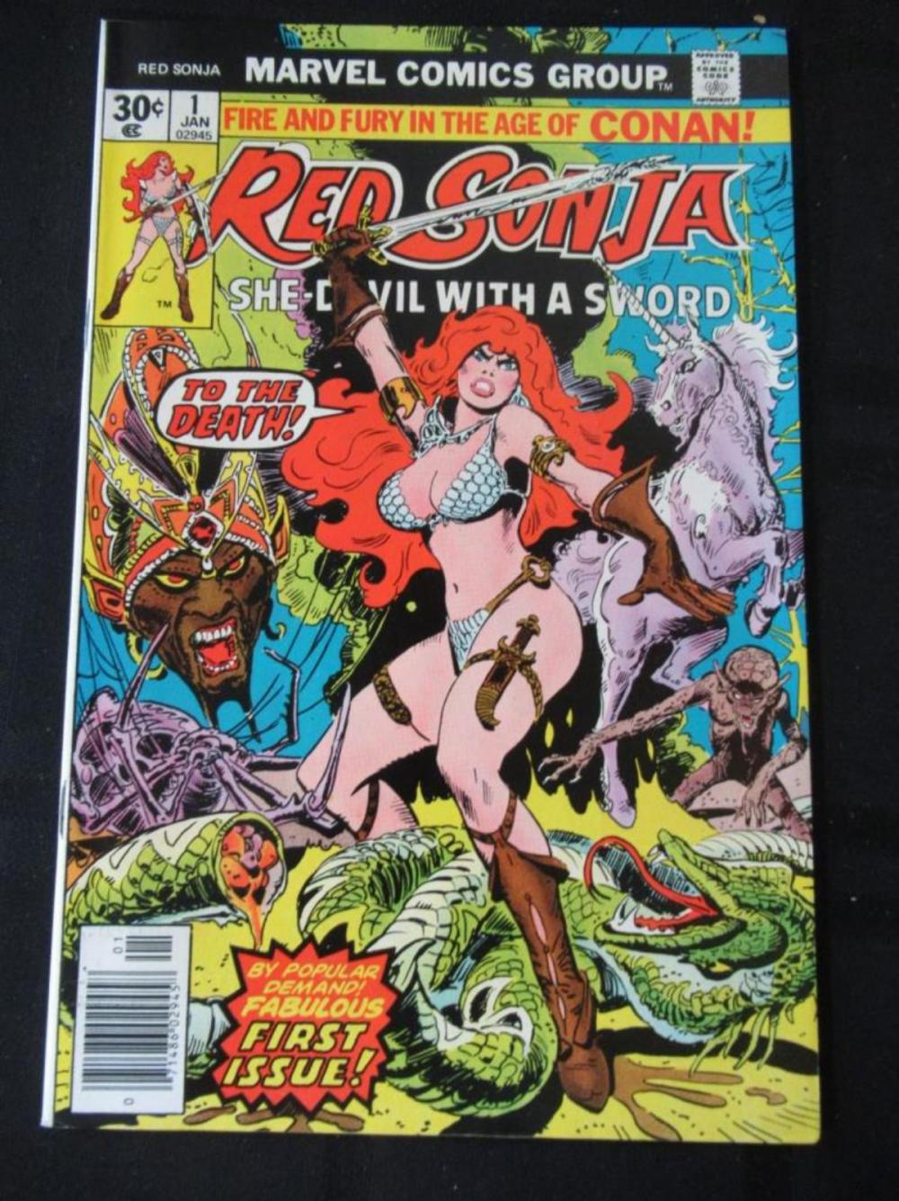 Red Sonja 30c #1 To The Death
