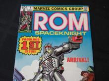 Lot 172: Rom Spacekight 40c #1 Fabulous 1st Issue