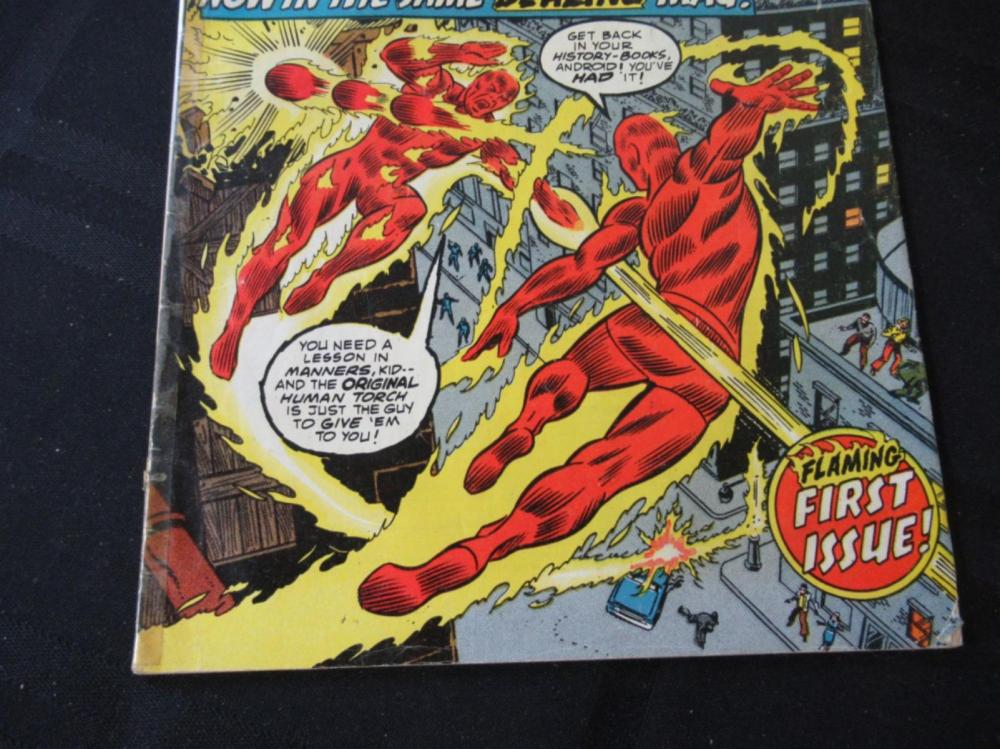 Lot 175: The Human Torch 25c #1 Flaming First Issue