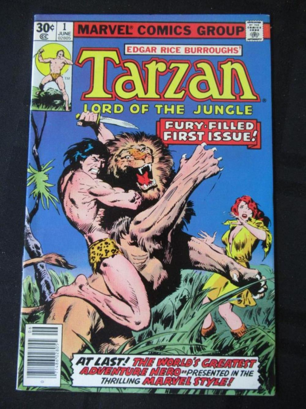 Tarzan Lord of the Jungle 30c #1 Fury Filled First