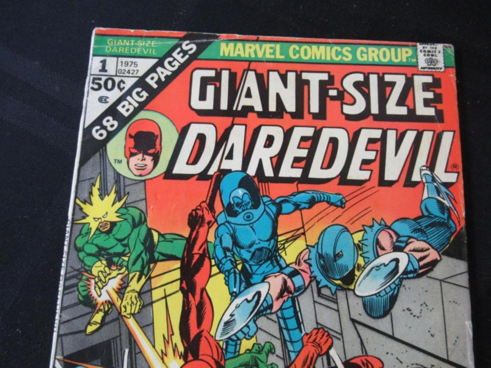 Lot 178: Giant Size Daredevil 50c #1 Annual Collection