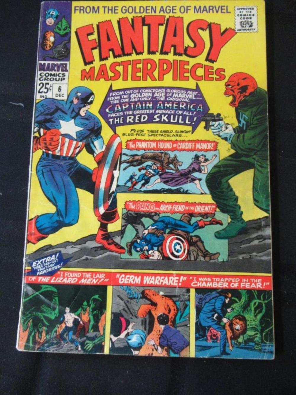 Fantasy Masterpieces 25c #6 Germ Warfare